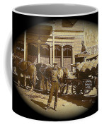Niagra Carting Wagon Extras The Great White Hope Set Globe Arizona 1969-2014 Coffee Mug