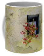 Niche With Flowers Coffee Mug