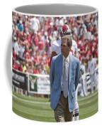 Nick Saban Head Football Coach Of Alabama Coffee Mug by Mountain Dreams