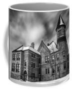 Nicolet School In Black And White Coffee Mug