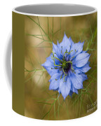 Nigella Damascena Coffee Mug