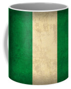 Nigeria Flag Vintage Distressed Finish Coffee Mug