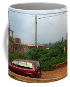 Nigerian Mountains In The Distance Coffee Mug