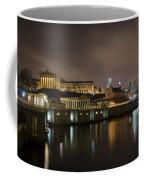 Night At Fairmount Waterworks And The Philadelphia Art Museum Coffee Mug