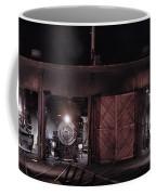 Night At The Durango Roundhouse Coffee Mug