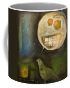 Night Bird Harvest Moon Coffee Mug