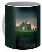 Night Cottage Coffee Mug