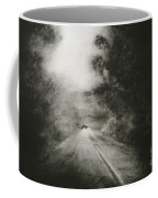Night Driving On The Bells Line Of Road Coffee Mug