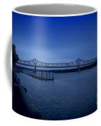 Night Fall On The Illinois River Coffee Mug