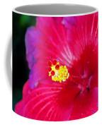 Night Fire Hibiscus Coffee Mug