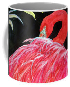Night Flamingo Coffee Mug