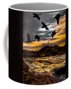 Night Flight Coffee Mug by Bob Orsillo
