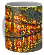 Night Life By The River Walk Coffee Mug