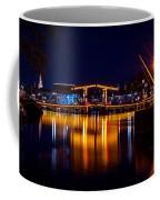 Night Lights On The Amsterdam Canals 1. Holland Coffee Mug