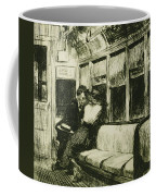 Night On The El Train Coffee Mug