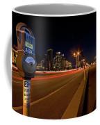 Night Parking Meter Coffee Mug