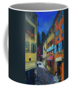 Night Street In Pula Coffee Mug