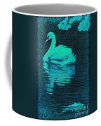Night Swan L Coffee Mug