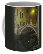 Night Time In Venice Coffee Mug