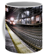 Night Train Coffee Mug by Olivier Le Queinec