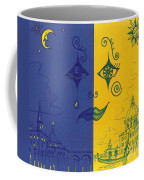 Nightime And Daytime In Venice Coffee Mug