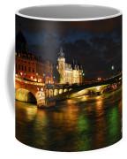 Nighttime Paris Coffee Mug