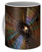 Nighttime Spider Web Coffee Mug