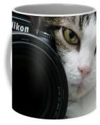 Nikon Kitty Coffee Mug