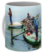 Nile River Fishermen  Coffee Mug