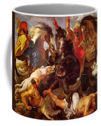 Nilpferdjagd Coffee Mug