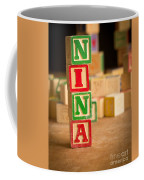 Nina - Alphabet Blocks Coffee Mug