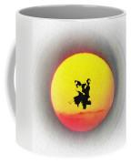 Ninja Duel In The Sun Coffee Mug