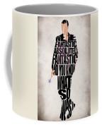Ninth Doctor - Doctor Who Coffee Mug by Ayse Deniz