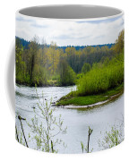 Nisqually River From The Nisqually National Wildlife Refuge Coffee Mug
