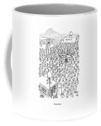 No Comment Coffee Mug