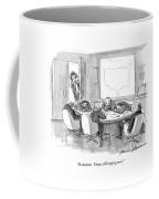 No Decision.  They're Still Sleeping On It Coffee Mug by Bernard Schoenbaum
