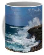 No Fishermen - Fun Sport At Laie Point Oahu North Shore Hawaii Coffee Mug