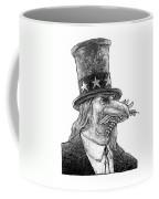 No Peace Coffee Mug