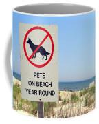 No Pets Coffee Mug