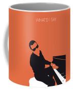 No003 My Ray Charles Minimal Music Poster Coffee Mug by Chungkong Art