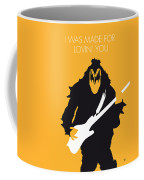 No024 My Kiss Minimal Music Poster Coffee Mug