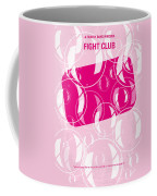 No027 My Fight Club Minimal Movie Poster Coffee Mug
