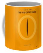 No039 My Lord Of The Rings Minimal Movie Poster Coffee Mug by Chungkong Art