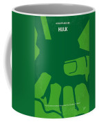 No040 My Hulk Minimal Movie Poster Coffee Mug