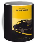 No051 My Mad Max 2 Road Warrior Minimal Movie Poster Coffee Mug
