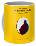 No096 My Tintin-3d Minimal Movie Poster Coffee Mug by Chungkong Art