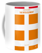 No112 My Fifth Element Minimal Movie Poster Coffee Mug
