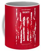 No114 My Machete Minimal Movie Poster Coffee Mug