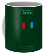 No117 My Matrix Minimal Movie Poster Coffee Mug by Chungkong Art