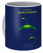 No118 My War Of The Worlds Minimal Movie Poster Coffee Mug by Chungkong Art